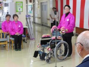 車椅子贈呈SHIFT02